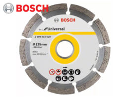 Diamantový rezný kotúč Bosch Eco for Universal Segmented / Ø 125 x 2 x 22,23 mm